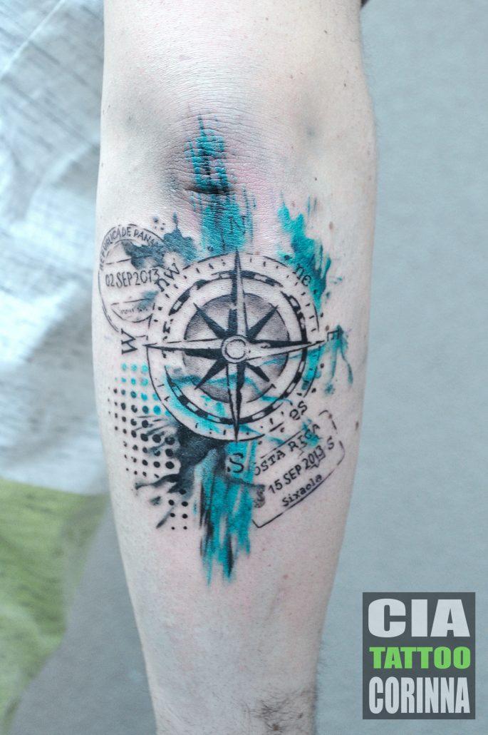 Aquarell Corinna Cia Tattoo
